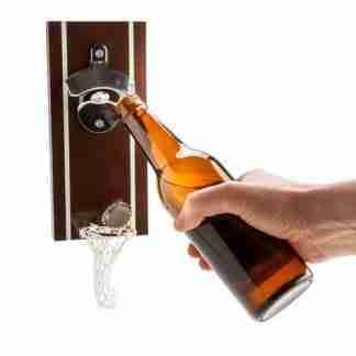 Magnetic Beer Basket Bottle Opener