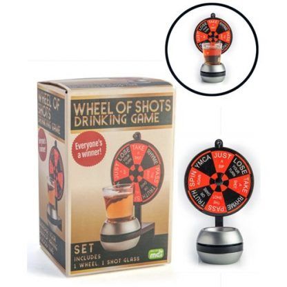 Wheel of Shots Novelty Drinking Game