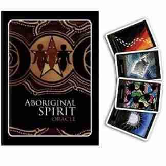 40pc Australian Aboriginal Spirit Oracle Cards & Booklet