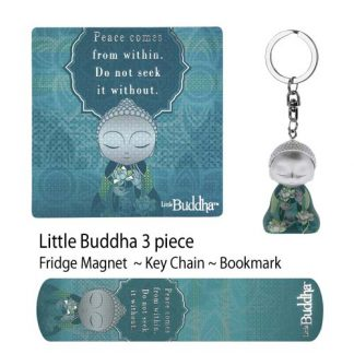 "3pc Little Buddha ""Peace Within"" Set of 3"