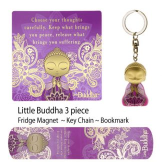 Little Buddha Figurine collection set Your thoughts
